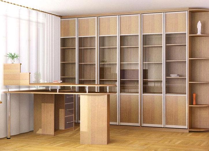 Стенки для гостиной на заказ, стенки горки и библиотеки - на.